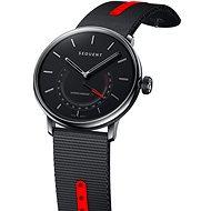 Sequent SuperCharger 2.1 Premium HR onyxově černé s černým/červeným řemínkem - Chytré hodinky