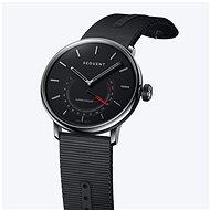 Sequent SuperCharger 2.1 Premium HR onyxově černé s černým řemínkem - Chytré hodinky