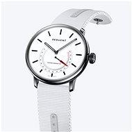 Sequent SuperCharger 2.1 Premium HR sněhově bílé s bílým řemínkem - Chytré hodinky