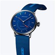 Sequent SuperCharger 2.1 Premium HR safírově modré s modrým řemínkem - Chytré hodinky
