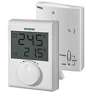 Siemens RDH100 RF/SET Bezdrátový digitální prostorový termostat s kolečkem - Termostat