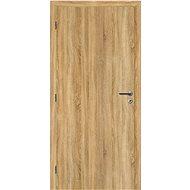 SOLODOOR Interiérové dveře SMART Plné, šířka 800 mm, levé, DUB SONOMA, oblá boční hrana - Interiérové dveře