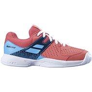 Babolat pulsion AC Jr červená/modrá - Tenisové boty
