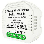 MOES  Hidden wifi smart Dimmer switch 2gang - WiFi spínač