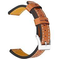 Tactical Color Kožený řemínek pro Samsung Gear 42mm Brown