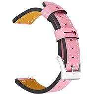 Tactical Color Kožený řemínek pro Samsung Gear 42mm Pink
