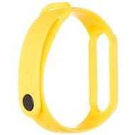 Tactical silikonový řemínek pro Xiaomi Mi Band 5/6 Yellow - Řemínek