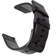 Tactical Kožený řemínek pro Garmin Vivoactive 3 Black - Řemínek