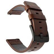 Tactical Kožený řemínek pro Huawei Watch GT / GT2 46mm / Honor Watch Magic 2 Brown