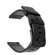 Tactical Kožený řemínek pro Samsung Galaxy Watch Active Black