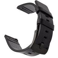 Tactical Kožený řemínek pro Samsung Gear Sport Black