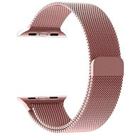 Tactical Loop Magnetic Metal Strap for iWatch 1/2/3, 42mm, Rose Gold (EU Blister)