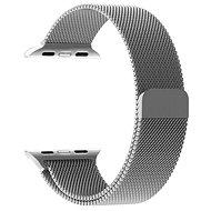 Tactical Loop Magnetický Kovový řemínek pro Apple Watch 42mm / 44mm Silver - Řemínek