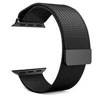 Tactical Loop Magnetický Kovový řemínek pro Apple Watch 38mm / 40mm Black - Řemínek