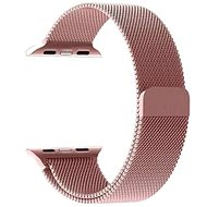 Tactical Loop Magnetic Metal Strap for Apple Watch 4 40mm Rose Gold - Watch band