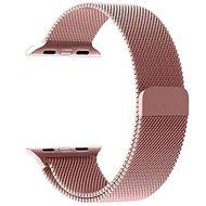 Tactical Loop Magnetický Kovový řemínek pro Apple Watch 42mm / 44mm Rose Gold - Řemínek