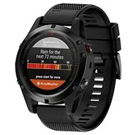 Tactical Silicone Strap for Garmin Fenix 5, Black (EU Blister)