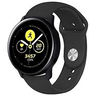 Tactical Silikonový řemínek pro Samsung Galaxy Watch Active Black