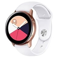 Tactical Silikonový řemínek pro Samsung Galaxy Watch Active White - Řemínek