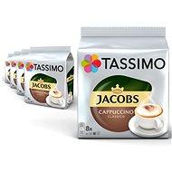 Tassimo KARTON 5 x Jacobs Kronung Cappuccino 260g  - Kávové kapsle