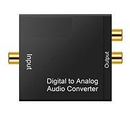 Adaptér Mascom DAC-01LT pro připojení sluchátek k TV  - Digitální hudební adaptér