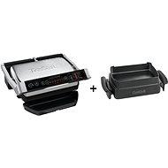 Tefal GC706D34 Optigrill+ Initial + Tefal XA725870 Baking accessory for Optigrill+/Elite - Set