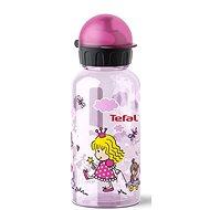 TEFAL KIDS láhev tritan 0.4 l růžová-princezna - Láhev na pití