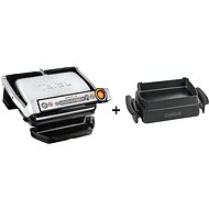 Tefal GC712D34 Optigrill+ INOX EE + Tefal XA725870 Baking accessory for Optigrill+/Elite - Set