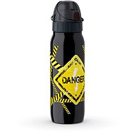 Tefal Vakuová nerezová láhev 0.5l ISO2GO černá-danger K3182212 - Láhev na pití