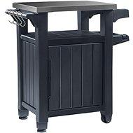 Zahradní stůl Keter Unity 105 L Grilovací stolek grafit - Zahradní stůl