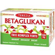 TEREZIA BETAGLUKAN Trio Komplex Forte 500 mg, 30 kapslí - Betaglukan