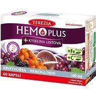 HEMOPLUS+Kys.listová cps.50+10 - Doplněk stravy