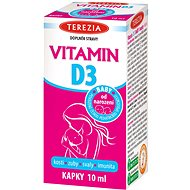 TEREZIA VITAMIN D3 BABY from First Month 400 IU 10ml - Vitamin D