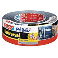 tesa Extra Power Universal, Textile, Silver, 50m:50mm - Duct Tape