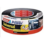 tesa Extra Power Universal, Textile, Black, 50m: 50mm - Duct Tape