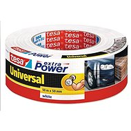 tesa Extra Power Universal, Textile, White, 50m: 50mm