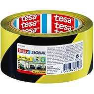 tesa SIGNAL, Marking Tape, yellow-black, 66m:50mm - Duct Tape