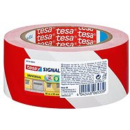 tesa SIGNAL Marking, Red, White, 66m: 50mm
