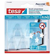 tesa Self-adhesive transparent decorative hook for glass - Hook