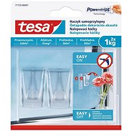 Tesa Self-Adhesive Transparent Decorative Hook for Glass 1kg