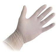 Gumové rukavice TESCOMA Jednorázové latexové rukavice, pudrované, vel. M, 100 ks