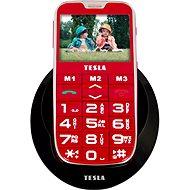 TESLA SimplePhone A50 červený - Promo