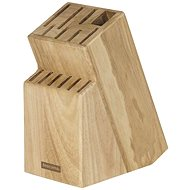 TESCOMA Block WOODY for 13 knives and shears/sharpening steel - Knife Block