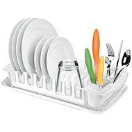 TESCOMA Odkapávač s podnosem CLEAN KIT, bílý - Odkapávač na nádobí