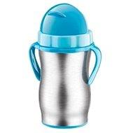 Tescoma Dětská termoska s brčkem BAMBINI 300ml, modrá - Termoska