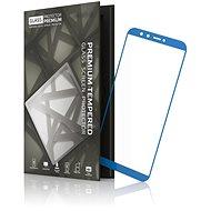 Tempered Glass Protector Rámečkové pro Huawei Mate 10 Pro Modré - Ochranné sklo