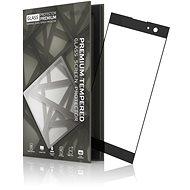 Tempered Glass Protector Rámečkové pro Sony Xperia XA2 Černé - Ochranné sklo