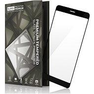 Tempered Glass Protector Rámečkové pro Nokia 7 Černé - Ochranné sklo