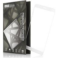Tempered Glass Protector Rámečkové pro Nokia 7 Bílé - Ochranné sklo