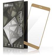 Tempered Glass Protector Rámečkové pro Honor 8 Zlaté - Ochranné sklo
